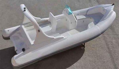 2016 Allmand HYP580 Rigid Inflatable Boat, Luxury model