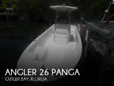 2008 Angler 26 Panga