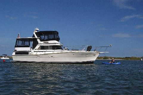 1980 Viking 43 DCMY Anchored