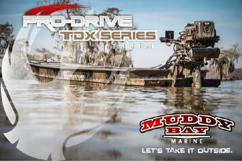 2015 Pro-Drive 18x54 TDX Timber Deck