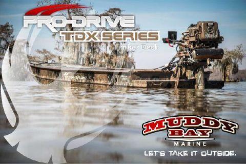 2016 Pro-Drive 18x54 TDX Timber Deck