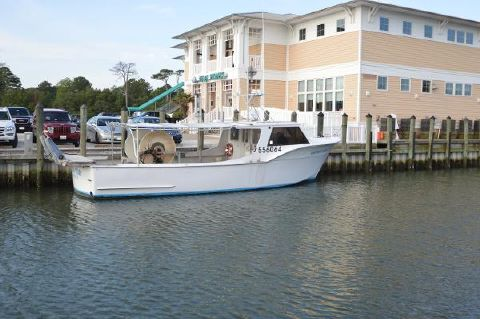 1973 Hatteras Commercial Fishing Vessel F/V Another Story, stbd side
