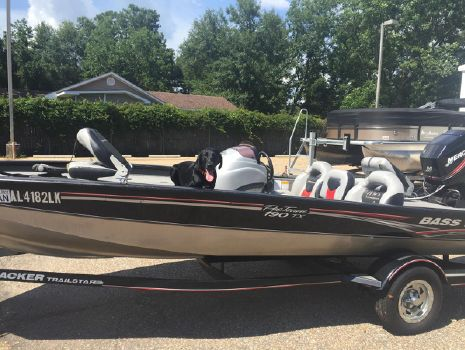 2007 Bass Tracker PRO TEAM 190 TX