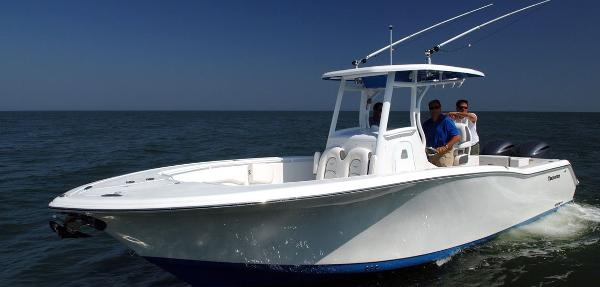 2016 Tidewater 280 Cc 28 Foot Blue Grey White 2016