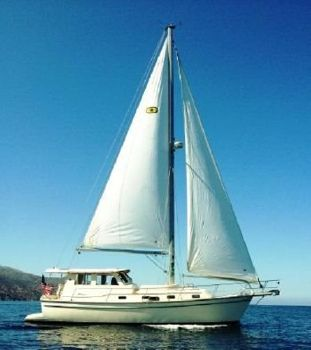 2008 Island Packet 41 SP Cruiser Starboard Profile