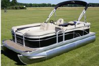 2015 Bennington 20 SLMX with 90 HP