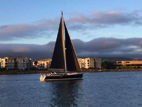 2015 Beneteau Sense 50 Under Sail