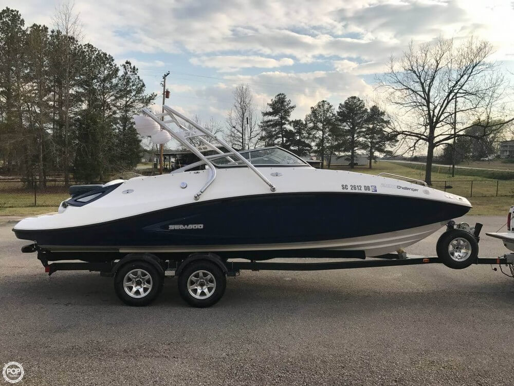 2008 sea doo 23 23 foot 2008 sea doo motor boat in for Used boat motors for sale in sc