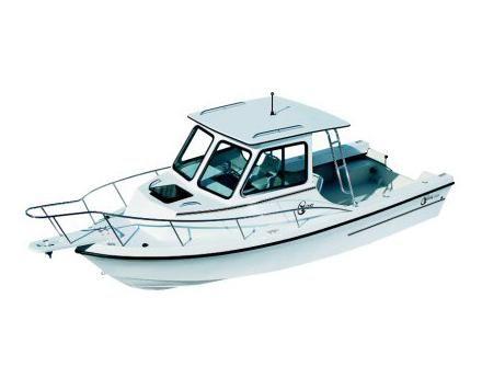 2008 C-hawk Boats 222 Sport Cabin Manufacturer Provided Image