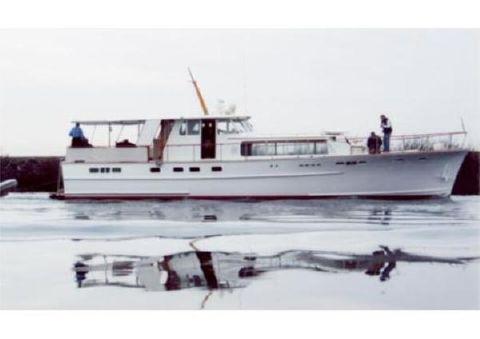 1961 Stephens Flush Deck Motor Yacht