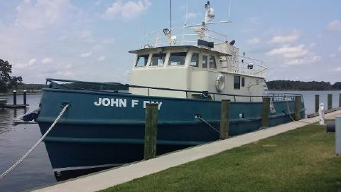2005 Norfolk Shipbuilding Custom Dive/Yard/Tug Boat