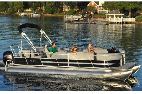 2016 Bentley Encore Pontoons 240 Cruise - Red Manufacturer Provided Image