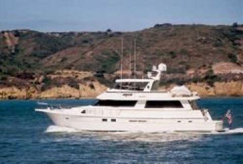 1989 Hatteras 70 Cockpit Motor Yacht El Patron