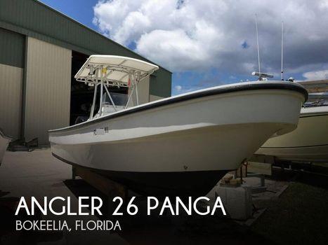 2007 Angler Boats 26 Cc Panga 2007 Angler 26 Panga for sale in Bokeelia, FL
