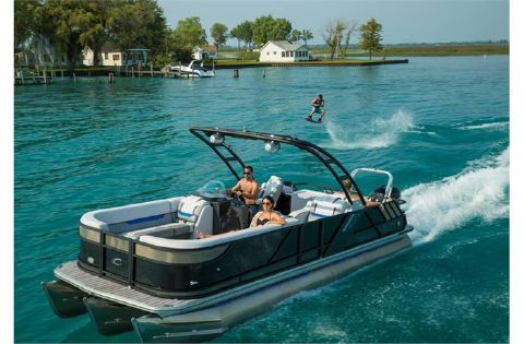 2017 Crest Pontoon Boats Caliber 250 SLR2