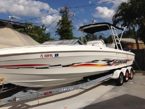 2001 Wellcraft Scarab 302
