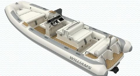 2018 Williams Jet Tenders Dieseljet 625 Manufacturer Provided Image: Williams Jet Tenders Dieseljet 625 Helm