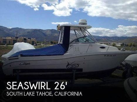 2011 Seaswirl 2605 WA Striper 2011 Seaswirl 2605 WA Striper for sale in South Lake Tahoe, CA