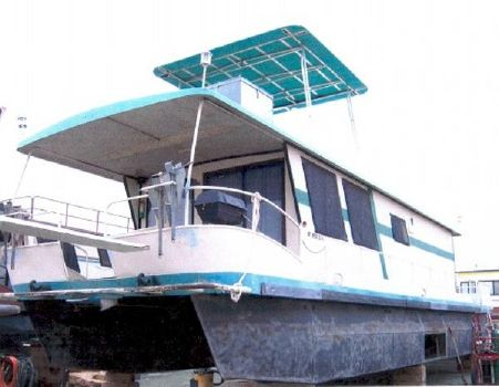 1989 Boatel Pontoon Houseboat
