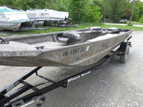 2008 Triton 1650 Duck Special