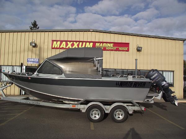 2008 north river seahawk 21 foot 2008 fishing boat in for Yamaha eugene oregon