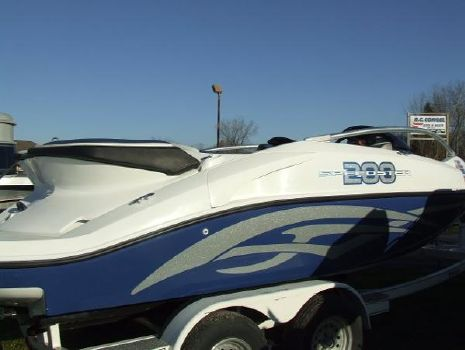 2007 Sea Doo 200 Speedster with Trailer (SCL)