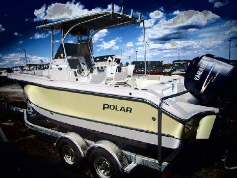2003 Polar Boats 21 center console