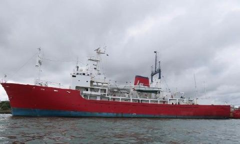 1978 Hayashikane Expedition Research Vessel