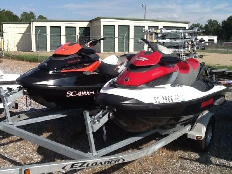 2011 Sea-Doo RXT-X 260 & GTX iS 215 Pair