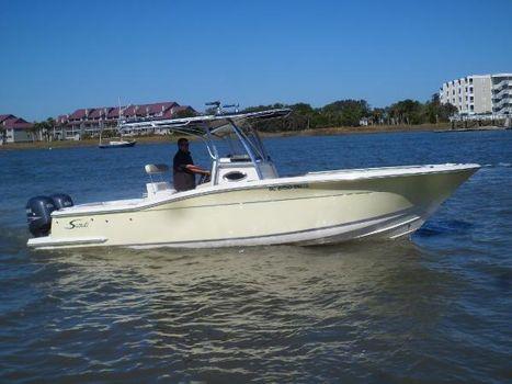 2006 Scout 260 Sportfish STARBOARD UNDERWAY