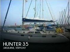 1992 Hunter 35.5 Legend 1992 Hunter 35 for sale in Shelburne, VT