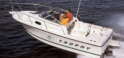 2004 Bayliner 2052 Trophy Walkaround Manufacturer Provided Image: 2052 Trophy Walkaround