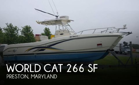 2000 World Cat 266 SF