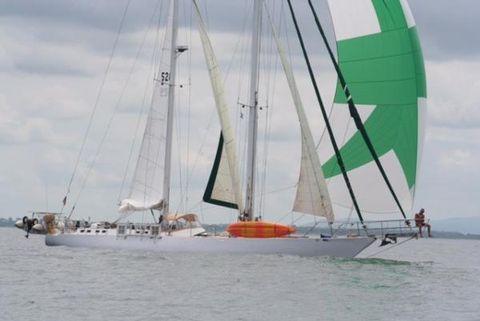 1980 Naval de Kerlevin Schooner Afternoon Sail