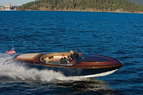 2015 Coeur Custom Wood Boats