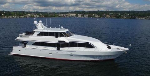 1999 Vic Franck-Heisley Skylounge Motor Yacht