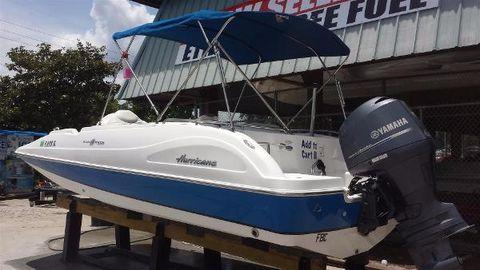 2013 Hurricane SunDeck Sport 202 OB
