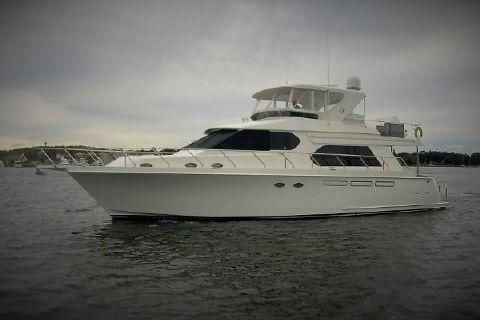 2010 Ocean Alexander 58 Pilothouse Port Profile