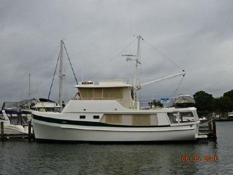 1999 Kadey Krogen Whaleback 48' Kadey Krogen port profile