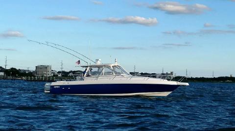 2003 Intrepid 377 Sportfish profile
