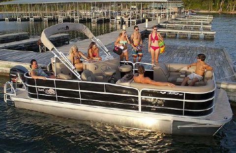 2016 G3 Boats SunCatcher V322 GT Manufacturer Provided Image