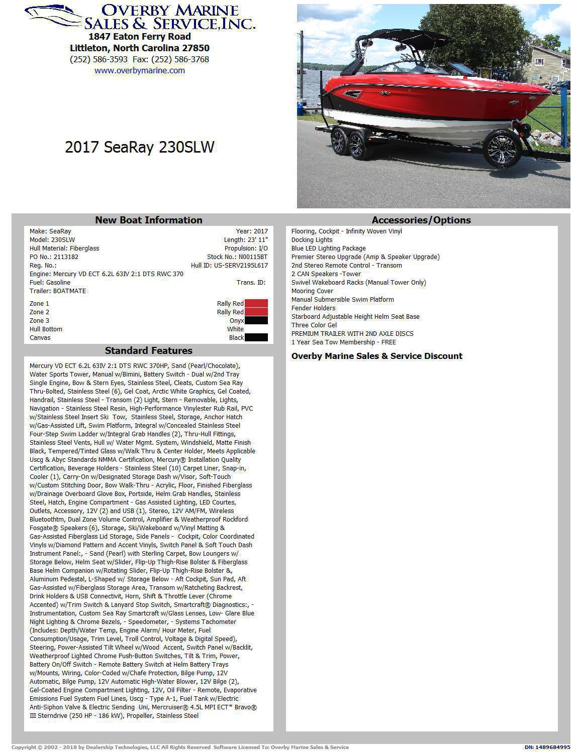 Check out this 2017 SEA RAY 230 SLXW on Boattrader com