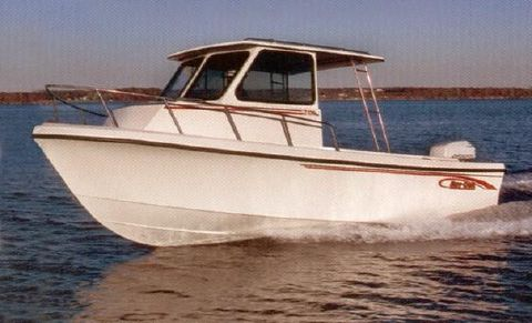 1999 May-craft 2300 Pilothouse Cabin 23' MayCraft 2300 Pilothouse