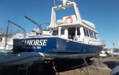 2004 Millenium Trawler Yacht