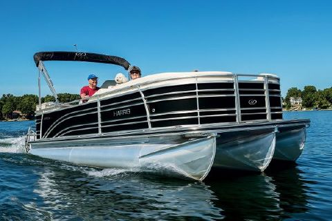 2016 Harris Solstice 240 CWDH - TRITOON Manufacturer Provided Image