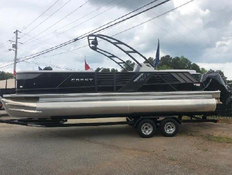 2019 CREST PONTOON BOATS Caliber 250