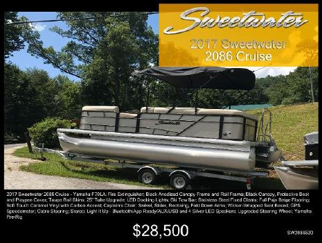 2017 Sweetwater 2086 C