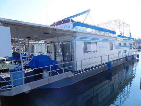 1984 Sumerset Houseboats 14' x 70' Houseboat Port side