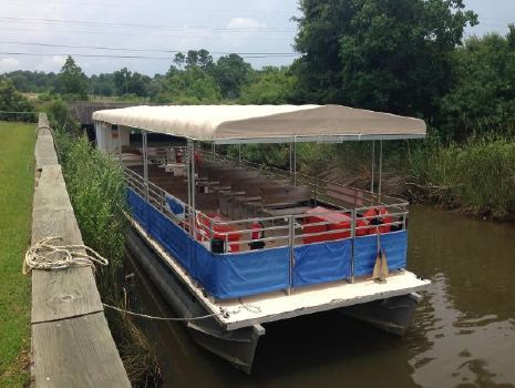 Beat for Boat: Info Pontoon tour boat for sale