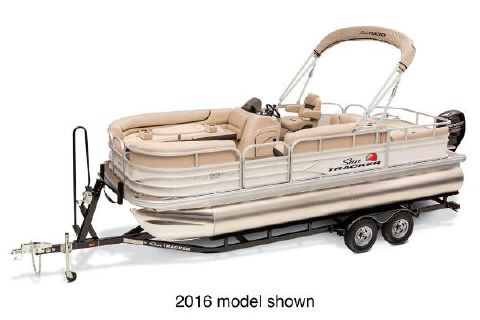 2017 Sun Tracker Party Barge 22 DLX